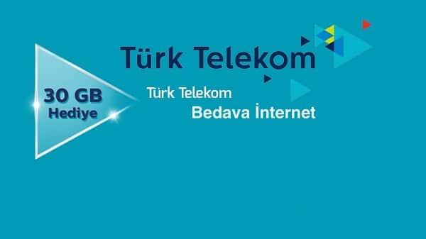 turk telekom internet kazanma