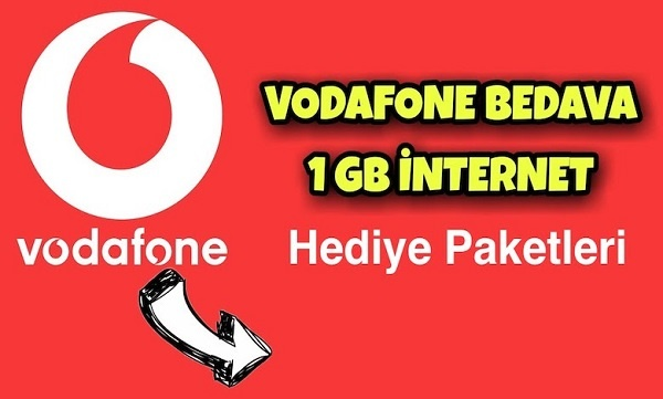 Vodafone 1 GB hediye internet
