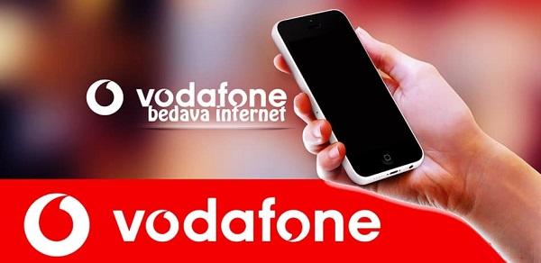 vodafone bedava internet hediye internet 1